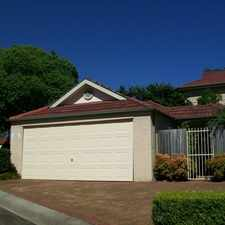 Rental info for QUIET LOCATION - 3 BEDROOM TOWNHOUSE, DOUBLE GARAGE in the North Rocks area