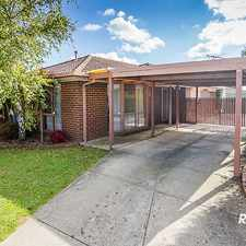 Rental info for QUIET COURT LOCATION in the Cranbourne area