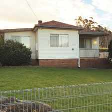 Rental info for Generous Family Home in the Bowral - Mittagong area