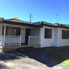 Rental info for 3 Pye Road Quakers Hill