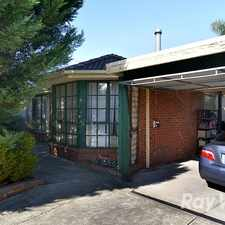 Rental info for A 3 bedroom, 2 bathroom home close to local facilities in the Narre Warren area