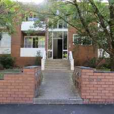Rental info for SPACIOUS APARTMENT IN TREE LINED STREET