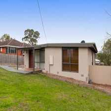 Rental info for Beautifully renovated minutes walk to train station in the Mooroolbark area