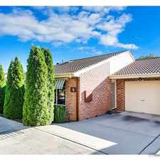 Rental info for Boutique Complex, Perfect Family Home in the Canberra area