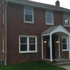 Rental info for Nice all brick colonial with beautiful wood floors throughout.
