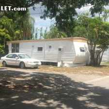Rental info for $900 2 bedroom Mobile home in Pinellas (St. Petersburg) Clearwater in the Tarpon Springs area