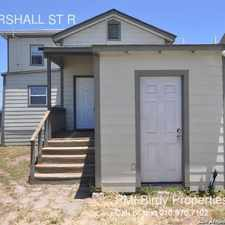 Rental info for 726 MARSHALL ST R in the San Antonio area