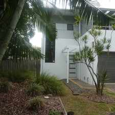 Rental info for ARCHITECTURAL TOWNHOUSE............INCLUDES WATER in the Brisbane area