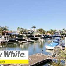Rental info for WATERFRONT FAMILY HOME WITH POOL! in the Gold Coast area