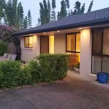 Rental info for 3 BEDROOM - PET FRIENDLY HOME IN TSS PRECINCT in the Gold Coast area
