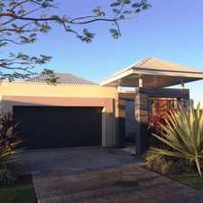Rental info for ROBINA'S FINEST WATERFRONT AND GOLF COURSE VIEWS in the Gold Coast area