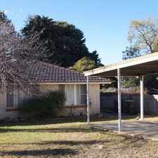 Rental info for Cosy Unit in the Armidale area
