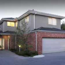 Rental info for Family Comfort Town Residence in the Murrumbeena area