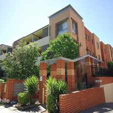 Rental info for COSY TWO BEDROOM UNIT IN GRANVILLE ! in the Holroyd area