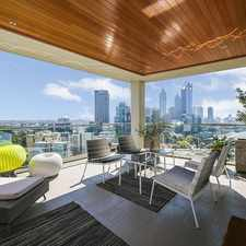 Rental info for CITY, RIVER & KINGS PARK PANORAMA - NEW YORK CHIC APARTMENT LIVING - FULLY FURNISHED in the Perth area