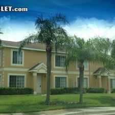 Rental info for Three Bedroom In Hillsborough (Tampa) in the Tampa area