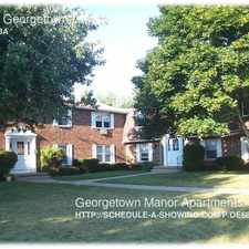 Rental info for 4-108 Georgetown Drive in the 14617 area