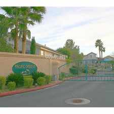 Rental info for 2112 Polynesia Circle in the Green Valley South area