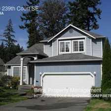 Rental info for 24819 239th Court SE