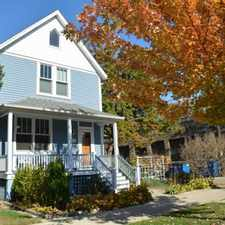 Rental info for Ravenswood Vintage House with Large Lot