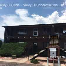 Rental info for 434 Valley Hi Circle - Valley Hi Condominiums