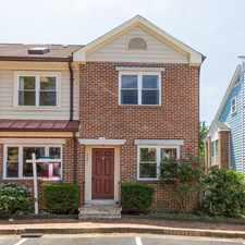 Rental info for 4531 11th St. N Arlington, VA 22201