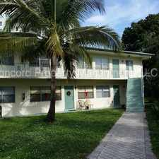 Rental info for Fantastic 1 bedroom apartment in historic Sailboat Bend!! in the Fort Lauderdale area
