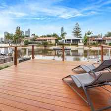 Rental info for Beautiful waterfront villa - furnished in the Surfers Paradise area