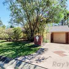 Rental info for Neat and Tidy Family Home in Leafy Shailer Park with Brand New Carpet