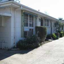 Rental info for NEAT UNIT PLUS WALKING DISTANCE TO ALL AMENITIES in the Melbourne area