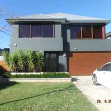 Rental info for BEAUTIFUL HOME IN LOVELY LOCATION in the Beeliar area