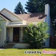 Rental info for 1632 S Marion St in the University area