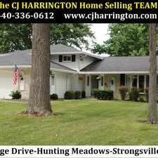 Rental info for Ohio Real Estate-17068 Partridge Dr(Strongsville, Ohio 44136)(440)336-0612 or WWW.CJHARRINGTON.COM in the Strongsville area