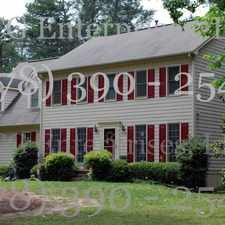 Rental info for Fully Furnished Peachtree City Home - Utilities Included - Move in Ready!