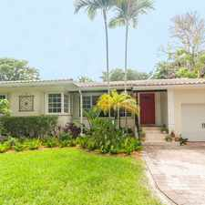 Rental info for Miami Shores Just Listed!