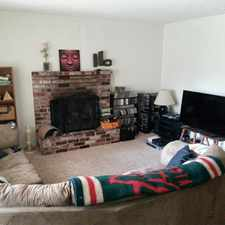 Rental info for Two bedroom one bath duplex.