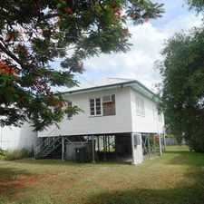 Rental info for High-set home in West Rockhampton in the Rockhampton area