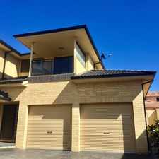 Rental info for Modern Townhouse in the Wollongong area