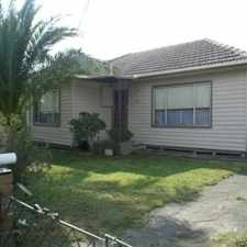 Rental info for Walk to St Albans shopping strip!
