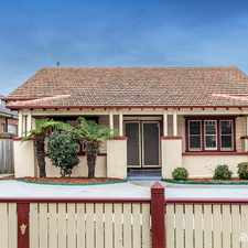 Rental info for RENOVATED PERIOD DELIGHT in the Bentleigh East area