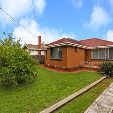 Rental info for Light, bright & spacious - a tenants dream! in the Moorabbin area