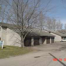 Rental info for 2 Bedroom with Garage Available March 1st! in the Stevens Point area