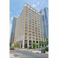 Rental info for The Lofts at 1835 Arch