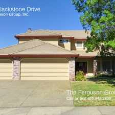 Rental info for 5941 Blackstone Drive in the 95765 area