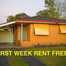 Rental info for FIRST WEEK RENT FREE! WALK TO FRUIT GROVE TRAIN STATION
