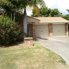 Rental info for 3 BEDROOM BRICK HOME IN VARISTY LAKES in the Burleigh Heads area