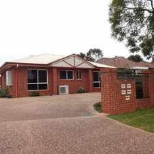 Rental info for Fantastic Modern Unit in Quiet Location! in the Toowoomba area