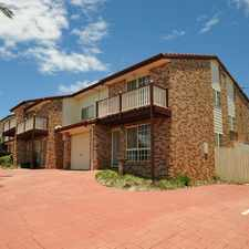 Rental info for GREAT LOCATION WITH SPACIOUS LIVING in the Toowoomba area