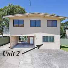 Rental info for APPLICATION APPROVED. SATURDAY'S INSPECTION CANCELLED!!!! in the Bateau Bay area