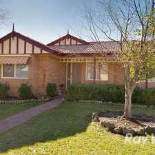 Rental info for A 4 BEDROOM, 2 BATHROOM HOME IN A POPULAR FAMILY AREA in the Melbourne area
